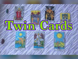 Twin Cards in the Major Arcana of the Tarot Deck