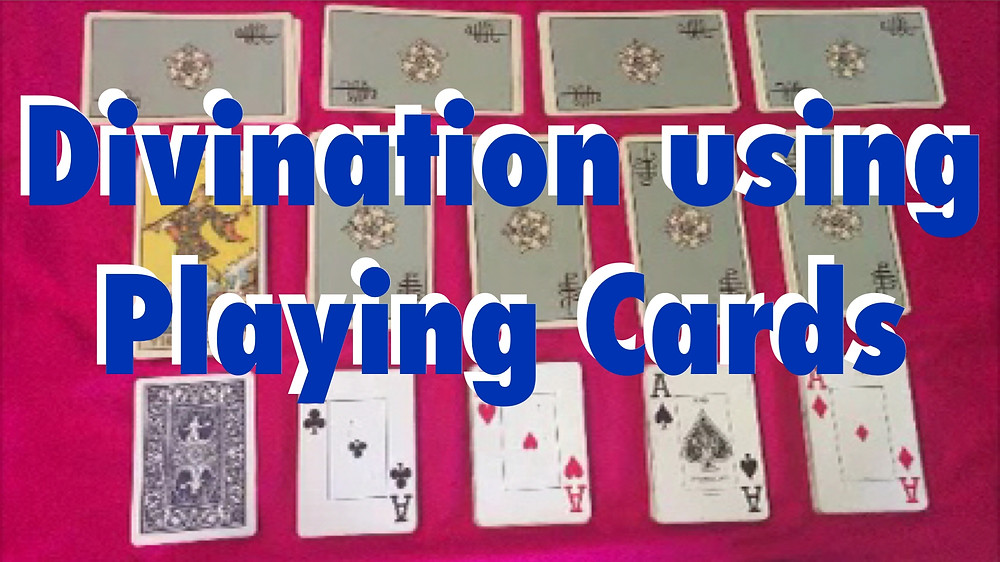 Divination using Playing Cards