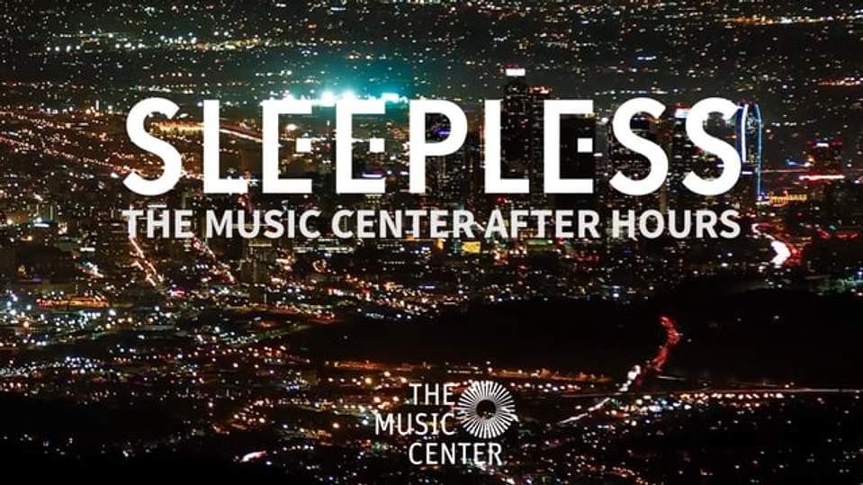 Dream Interpreter at The Los Angeles Music Center's: SLEEPLESS
