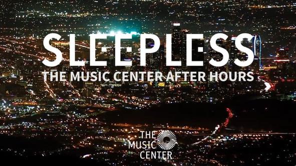 Dream Interpreter at The Los Angeles Music Center's: SLEEPLESS