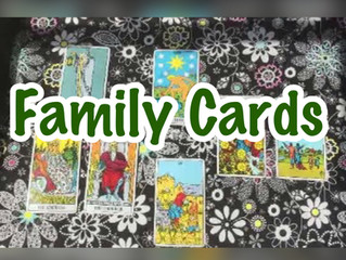 Family Cards in the Tarot Deck