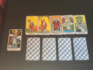 Tarot Card combinations with the Tower in the Major and Minor Arcana