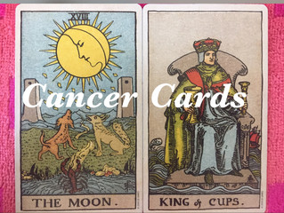 "Summer Season: The ""Cancer Cards"" in the Tarot Deck"