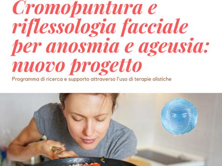 Cromopuntura e riflessologia facciale per anosmia e ageusia: nuovo progetto