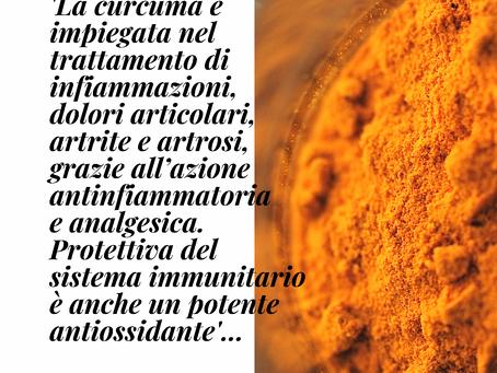 La curcuma è impiegata nel trattamento di infiammazioni, dolori articolari, artrite e artrosi...