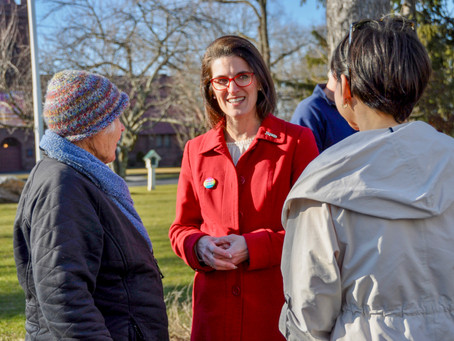 LTE: Cristin McCarthy Vahey Serves the Community