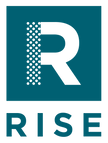 RISE exhibts and enviroments logo