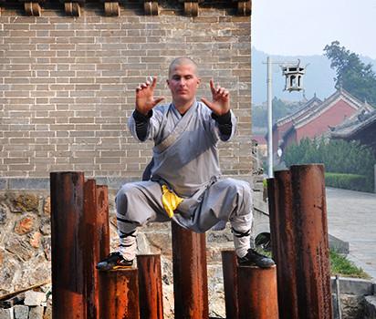 Niclas träning på Shaolin