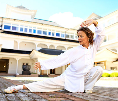 Qigong stretching med Annica