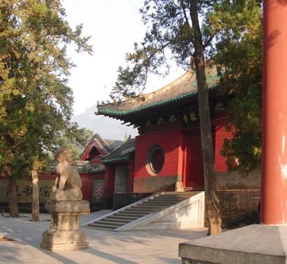 Shaolin gate i Kina