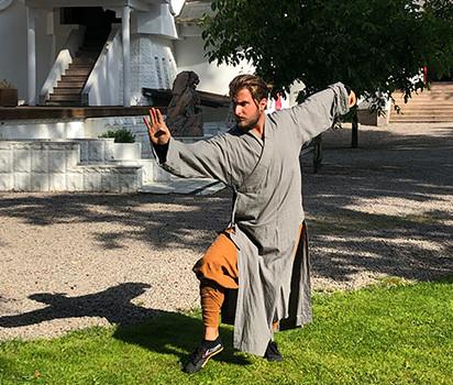 Shaolin kung fu tränare Nicke