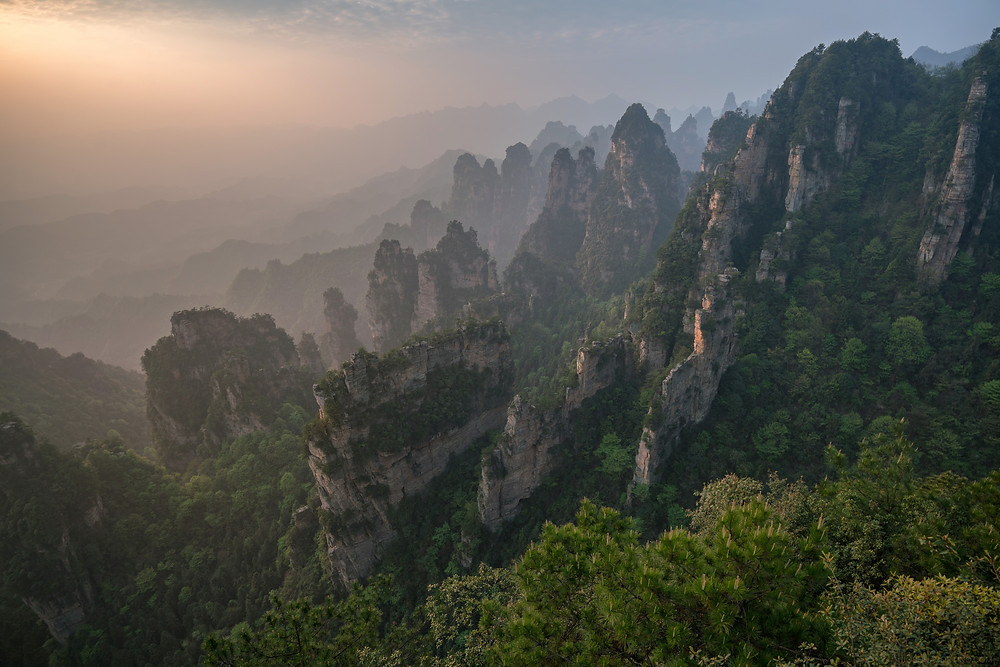 Zhangjiajie National Forest Park หุบเขาอวตาร @China