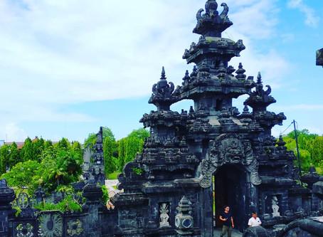 """อนุสาวรีย์อันงดงาม """"Bajra Sandhi Monument""""@Indonesia"""