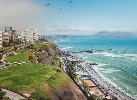 Miraflores ย่านไฮโซของเมืองลิมา @Peru