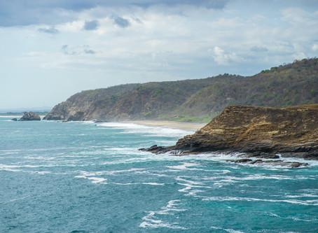 Punta Cometa คาบสมุทรบนชายฝั่งแปซิฟิก @Mexico