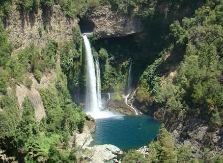 Radal Siete Tazas National Park กับน้ำตกอันงดงาม @Chile