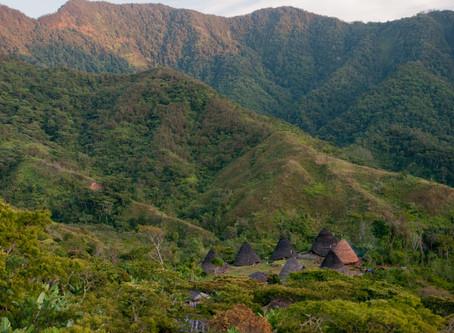 """หมู่บ้านดั้งเดิม """" Wae Rebo Village""""@Indonesia"""