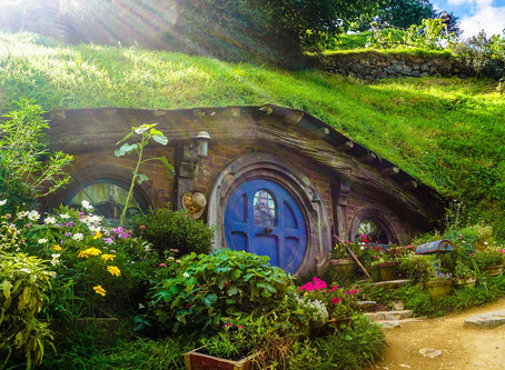 Hobbiton Movie Set หมู่บ้านฮอบบิทของจริง! @New Zealand