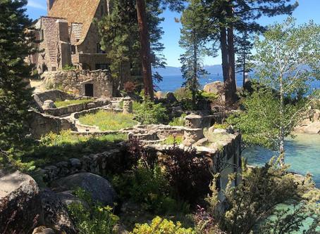 """ที่ดินริมน้ำทะเลสาบทาโฮ """"Thunderbird Lodge""""@America"""