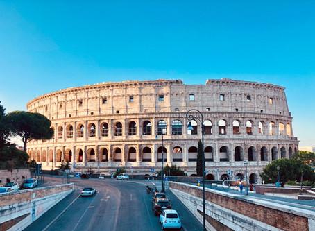 Colosseum 1 ใน 7 สิ่งมหัศจรรย์ของโลกยุคใหม่ @Italy