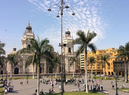 Plaza Mayor จัตุรัสกลางเมืองลิมา @Peru