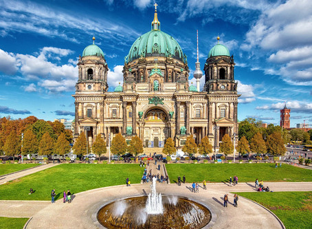 Berlin Cathedral มหาวิหารเบอร์ลิน @Germany