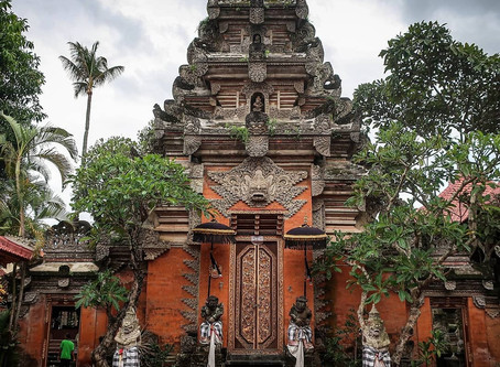 """พระราชวังเก่า """"Puri Saren Agung""""@Ubud"""