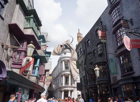 """เอาใจสาวก Harry Potter กันบ้างดีกว่า""""Harry Potter and the Escape from Gringotts""""@America"""