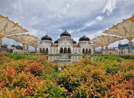 มัสยิดใหญ่แห่งบัยตุรเราะฮ์มาน (Masjid Raya Baiturrahman)@Indonesia
