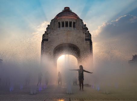 Monument to the Revolution อนุสาวรีย์เพื่อการปฏิวัติ @Mexico