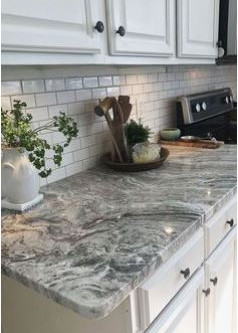 Quartz or Granite Countertops.