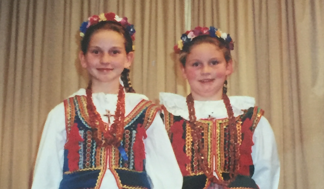 Helen's Polish Folk Singing Days
