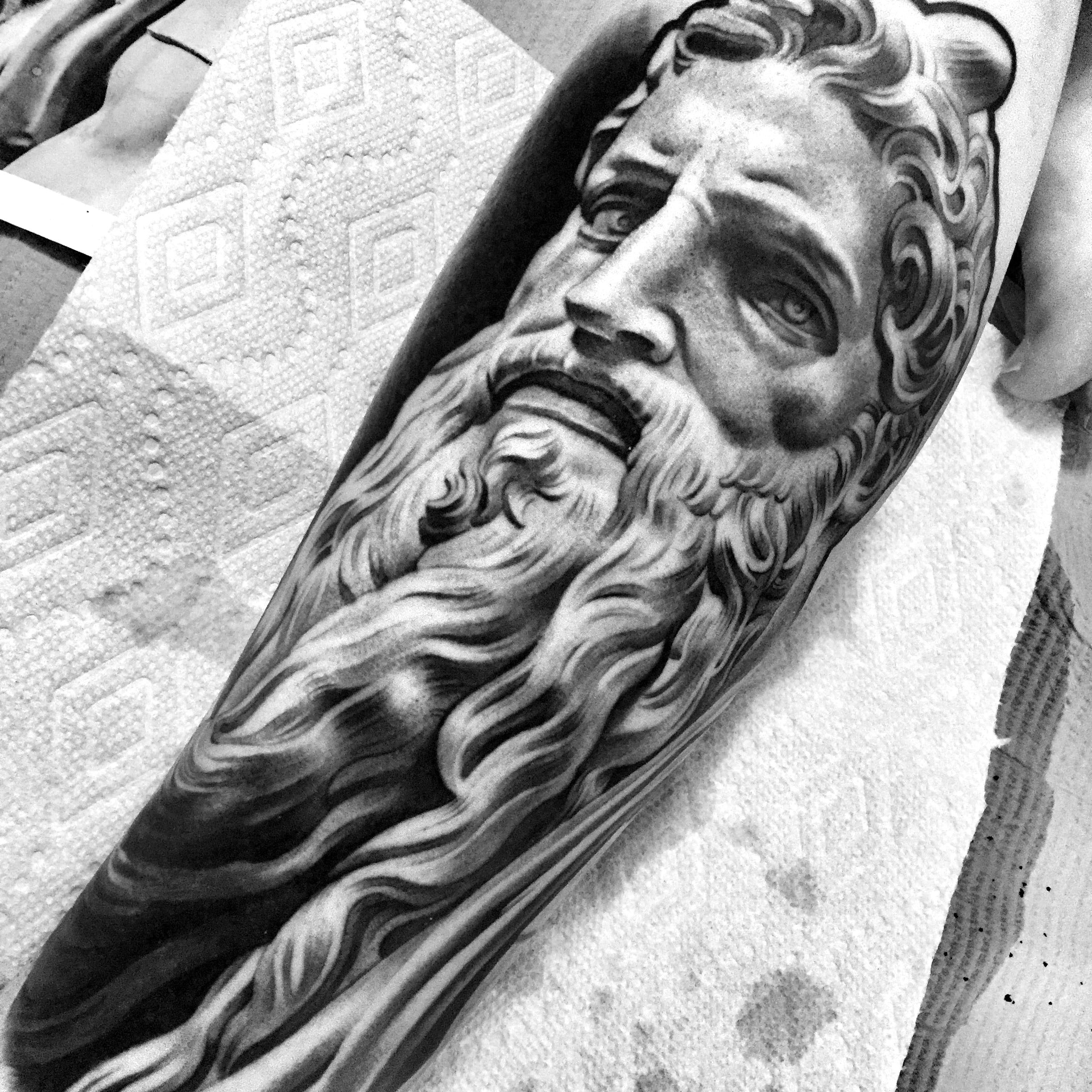 moses tattoo