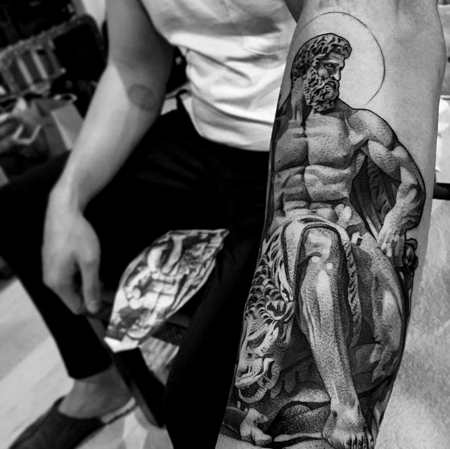 hercules tattoo