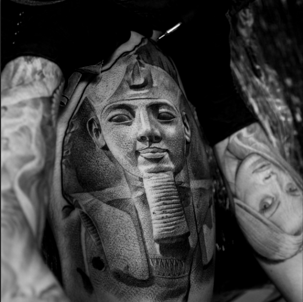 Pharaoh tattoo