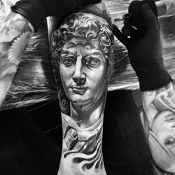 david statue tattoo