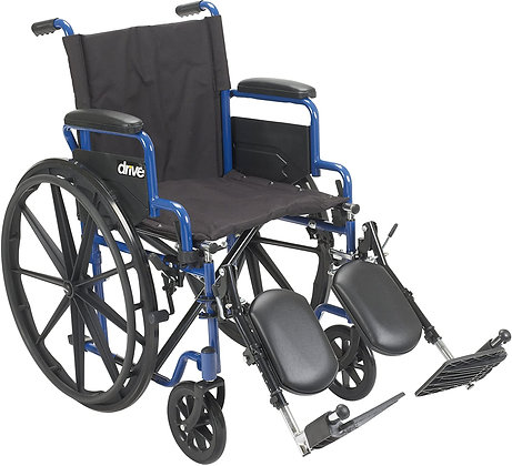 "Drive Blue Streak 18"" Rental Wheelchair"