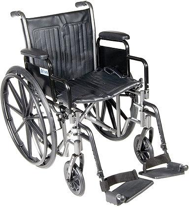 """Drive 20"""" Wheelchair 4 Week Rental"""