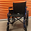 "Thumbnail: Drive Blue Streak 18"" Rental Wheelchair"
