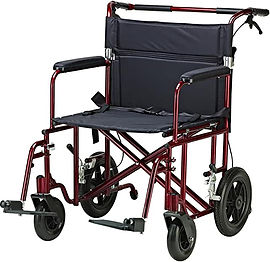 Drive Medical Bariatric Transport Chair.