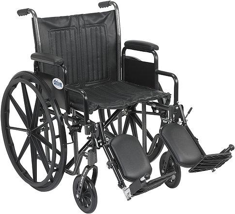 """Drive Silver Sport 2 Wheelchair 20"""""""