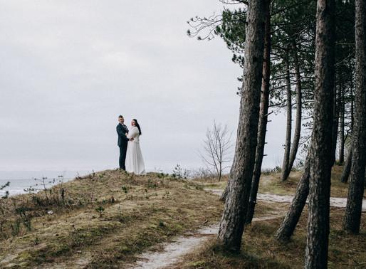 Zimowy Ślub w Karwi