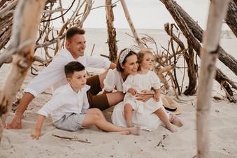 Sesja rodzinna na helskich wydmach