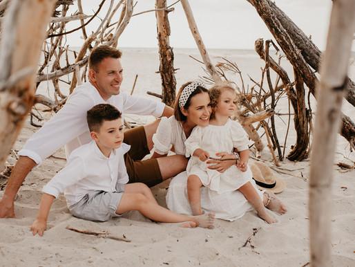 Sesja rodzinna na Półwyspie Helskim