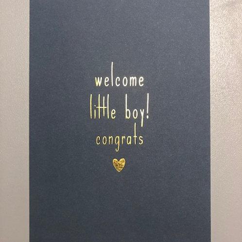 Welkom little boy! congrats