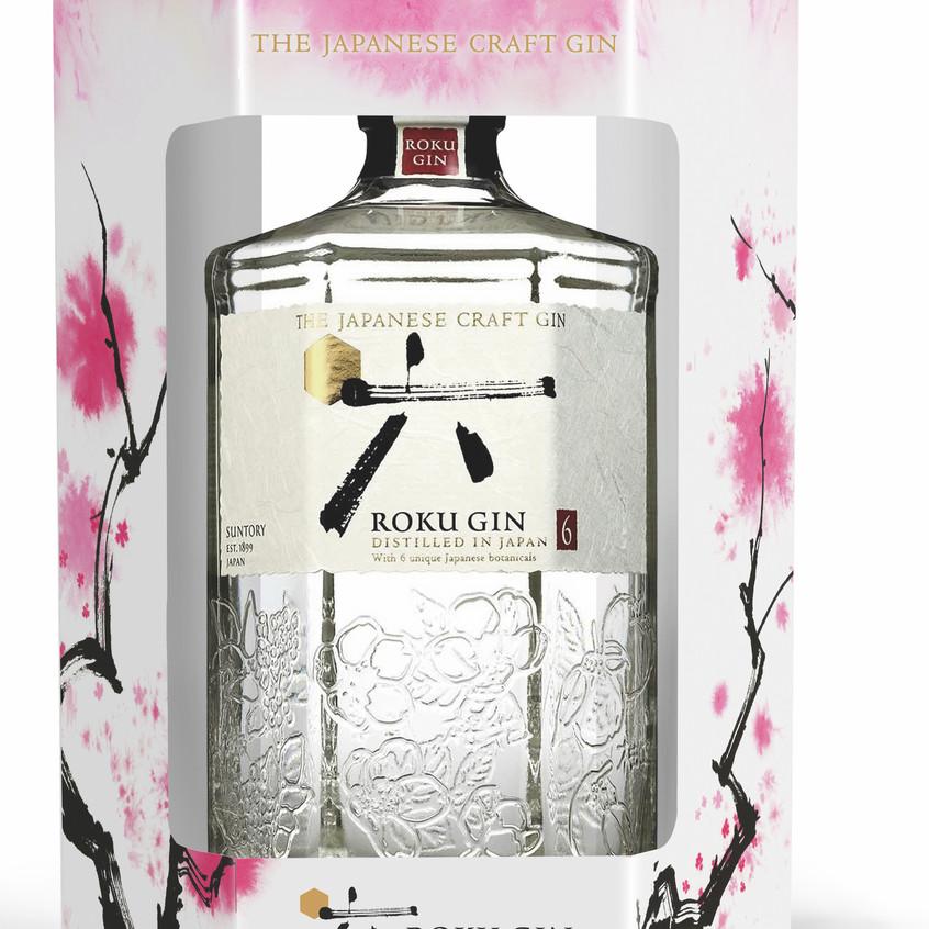 Roku gin single