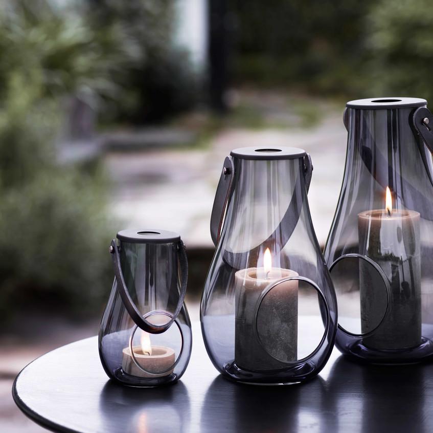 Holmegaard_DWL Lanterns, smoke_Interior