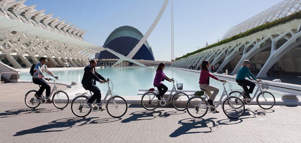 Valencia per fiets !