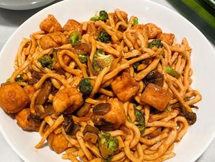 Fast Vegan Stir-Fry with Udon Noodles