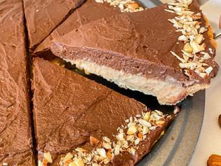 Chocolate Peanut Butter Pie (no coconut, no cashews)